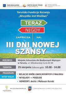 III DNS plakat Toruń